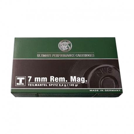 RWS Teilmantel Cal. 7mm Rem Mag 145gr