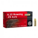 Geco Vollmantel FMJ Cal. 6.35 Browning 49gr