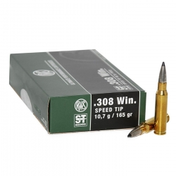 CARIC.RWS C.308 WIN SPEED TIP 165GR