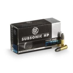 RWS Cal. 22LR Subsonic 40gr
