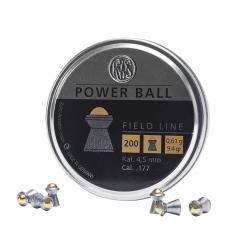 PALLINI RWS POWER BALL 4,5MM 0,61G