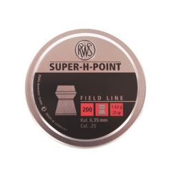 PALLINI RWS SUPER H-POINT 6,35MM