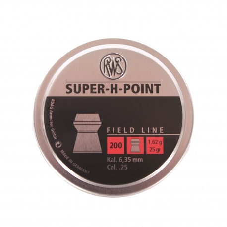 PALLINI RWS SUPER H-POINT 6,35MM
