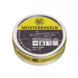 RWS Meisterkugeln Cal. 4.51