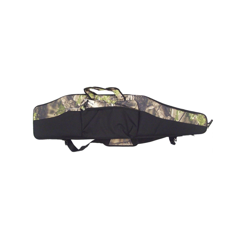 Fodero in cordura imbottito porta carabina con ottica 120 cm nero