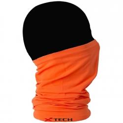 X-Tech Scaldacollo Tubolare Multiuso Xtube Arancione Fluo