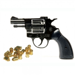 Bruni Revolver a Salve Olimpic Black Cal. 6
