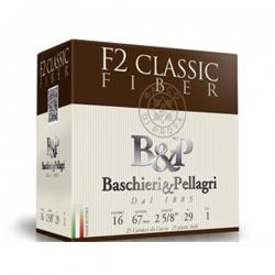 CART.B&P F2 CLASSIC FIBER CAL.16 29G