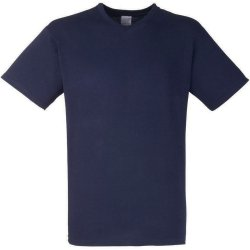 The Big Apple T-Shirt Scollo a V Blu