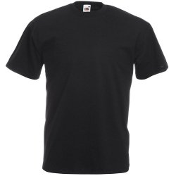 Fruit of the Loom T-Shirt Girocollo Nera