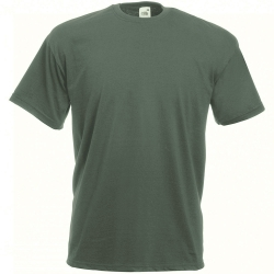Fruit of the Loom T-Shirt Girocollo Verde