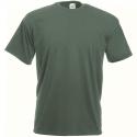 Fruit of the Loom T-Shirt Girocollo Verde