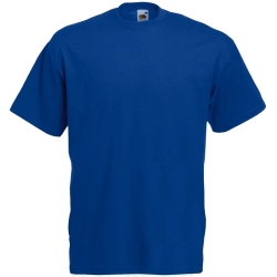 Fruit of the Loom T-Shirt Girocollo Blu