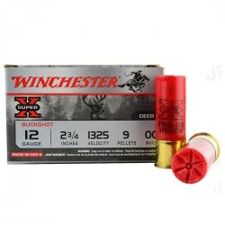 Winchester Super X Buckshot 9 Pallettoni Cal. 12