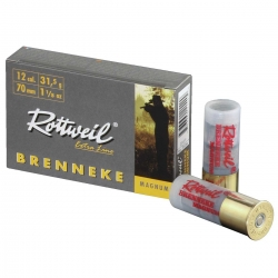 Rottweil Brenneke Semi Magnum Cal. 12 31.5gr