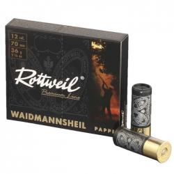 Rottweil Waidmannsheil Pappe Cal. 12 36gr