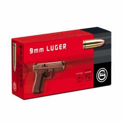 CARIC.GECO C.9MM LUGER 124GR CLRN