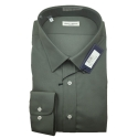 Classic Collection Camicia Maniche Lunghe Calibrata Verde