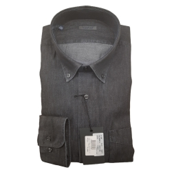 Classic Collection Camicia Maniche Lunghe Antracite