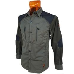 Dimar Camicia in Softshell Verde Dimar-tex