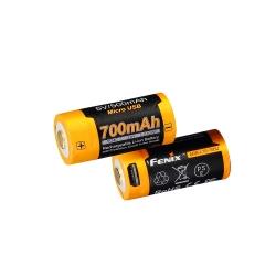 Fenix ARB-L16-700U Batteria Ricaricabile microUSB 16340