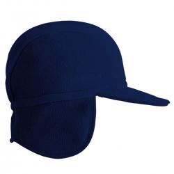 CMP Cappello in Pile con Paraorecchie Blu