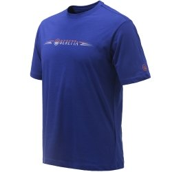 Beretta T-shirt Broken Clay Blu