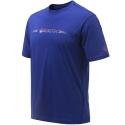 Beretta T-shirt Broken Clay Blu