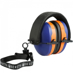 Beretta Cuffie Gridshell Blue/Orange