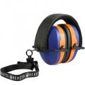 Beretta Cuffie Gridshell Blue/Orange