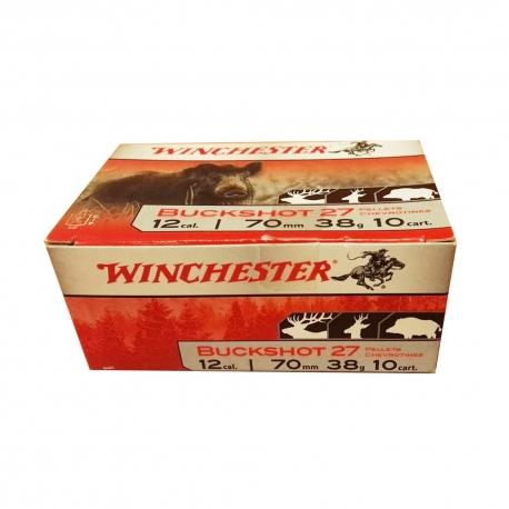 CART.WINCHESTER BUCKSHOT 27 PALLETTO