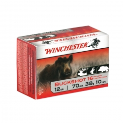 CART.WINCHESTER BUCKSHOT 16 PALLETTO