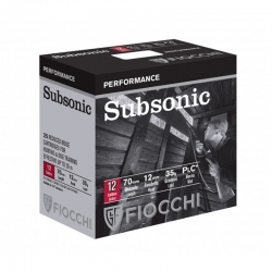 CART.FIOCCHI SUBSONIC CAL. 12 35GR