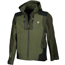 Univers Giacca in Softshell Verde Univers-tex 91002 326