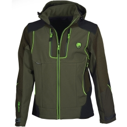 Univers Giacca in Softshell Verde Fluo Univers-tex 91002 400