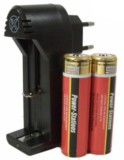 Keen Ray Carica batterie RCR18650