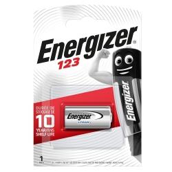 Energizer Batteria Lithium CR123 3V