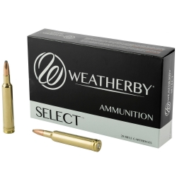 CARIC.WEATHERBY CAL.240 WBY 100GR SP