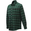 Beretta Camicia da Caccia in Flanella Overshirt Zippered Pocket