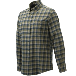CAMICIA BERETTA WOOD FLANNEL BUTTON