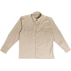 Esse Emme Camicia in Cotone Beige