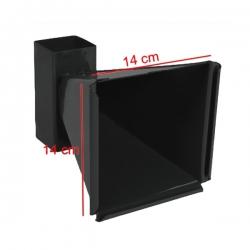 Porta Bersaglio Conico in Metallo 14x14cm