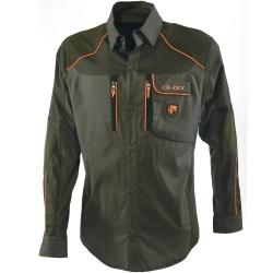 Univers Camicia Beccaccia Verde/Arancione 94014 392
