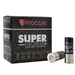 CART.FIOCCHI SUPER BLACK 28GR C.12