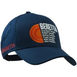 Beretta Cappello Diskgraphic Blu