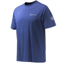 Beretta T-Shirt Diskgraphic Blu