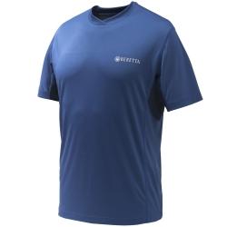 Beretta T-Shirt Flash Tech Blu