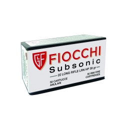 CARIC.FIOCCHI CAL.22 LR SUBSONIC LRN