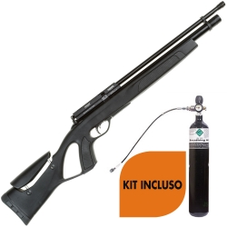 Gamo Coyote Black Cal. 5.5 KIT TUTTO INCLUSO