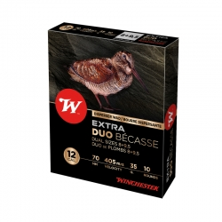 CART.WINCHESTER EXTRA DUO BECASSE